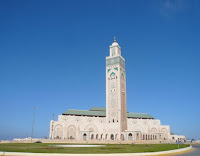 mezquita de hassan en casablanca