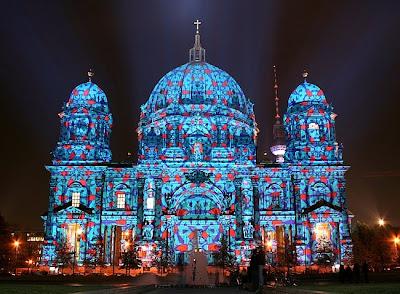 festival de las luces en la catedral
