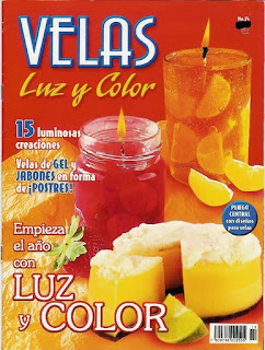 Portada Revista Velas Luz y Color