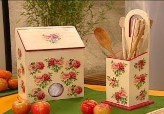 Manualidades en decoupage juego para la cocina for Como hacer mi cocina