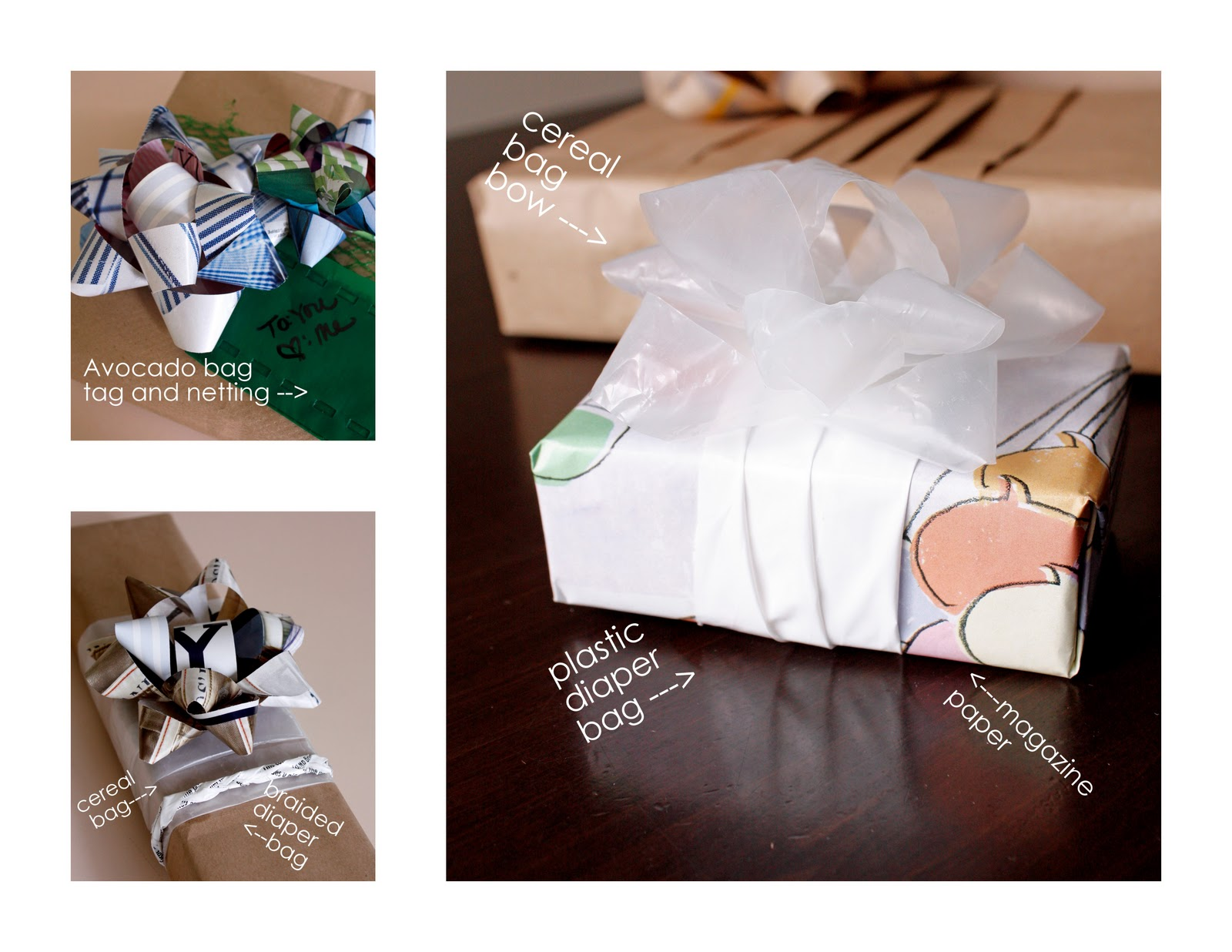 Recycled Wrappings