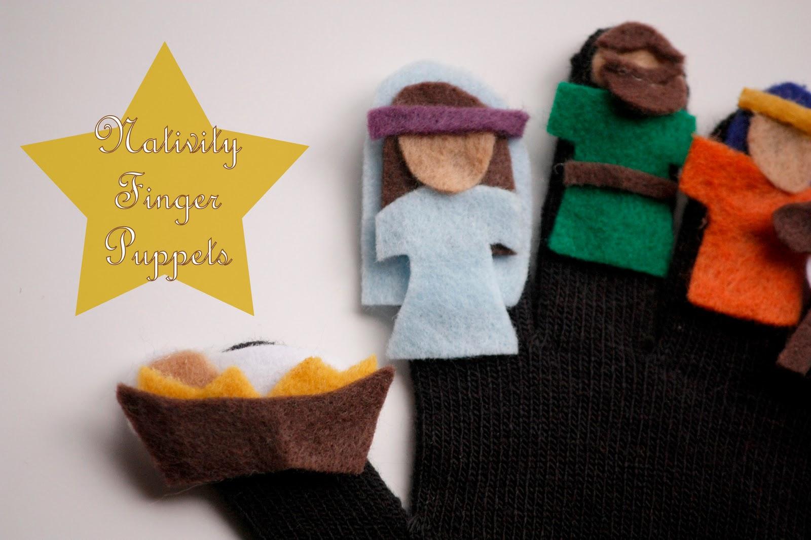 nativity finger puppet printable repin like comment nativity finger ...
