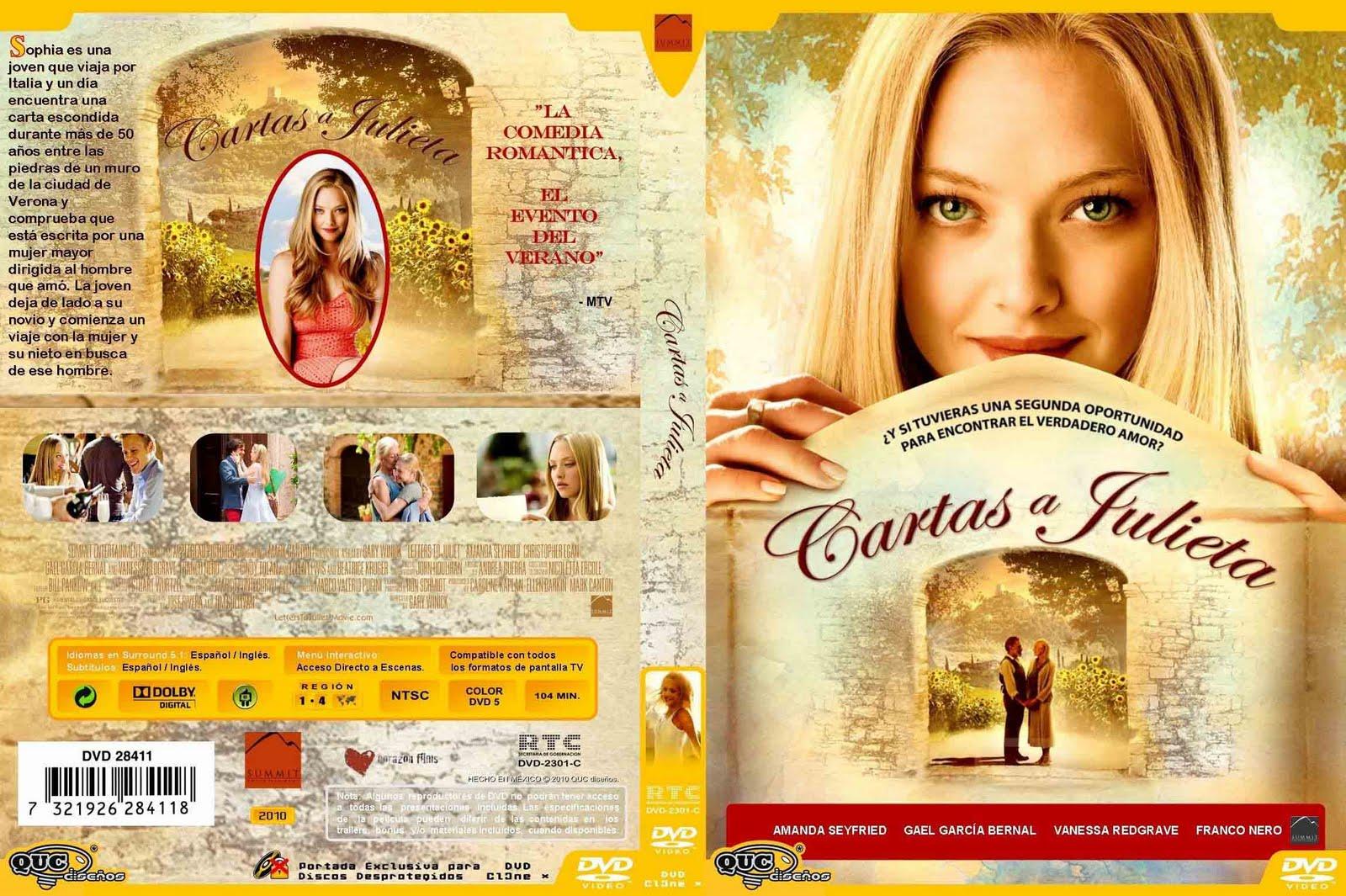 CINEFILOS2000: Cartas A Julieta (2010) Amanda Seyfried Imdb
