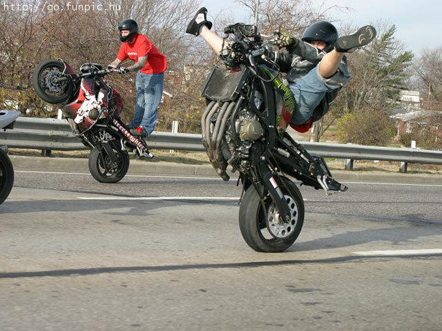 Stunt Bike Rider - Hot Shot - View Article crazy moto stunts.