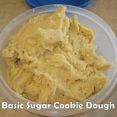 sugar cookie dough
