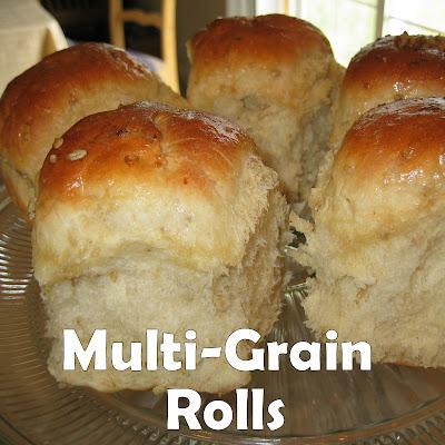 Pink Cookies with Sprinkles: Multi-Grain Rolls!