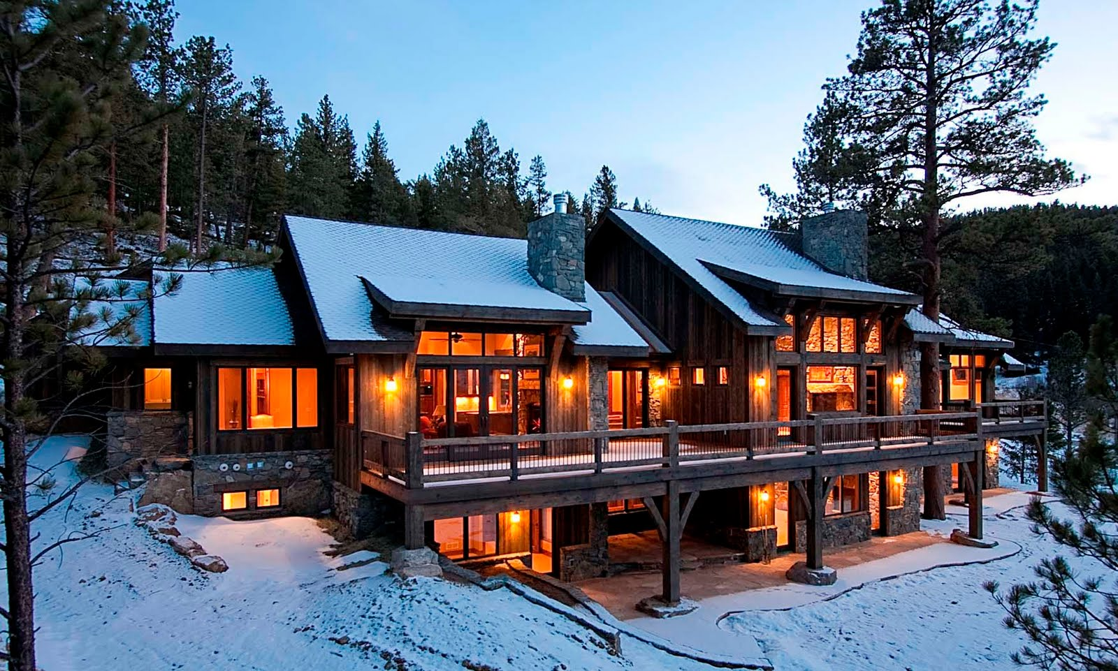Tkp architects pc tkp design wins best in american living for The mountain house