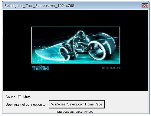 Descargar Tron Legacy Screensaver Gratis