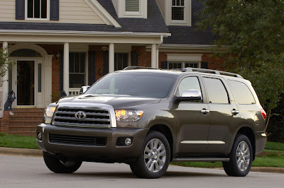 stargazer 39 s garage test drive 2008 toyota sequoia platinum. Black Bedroom Furniture Sets. Home Design Ideas
