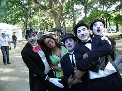 Con los Chaplin...