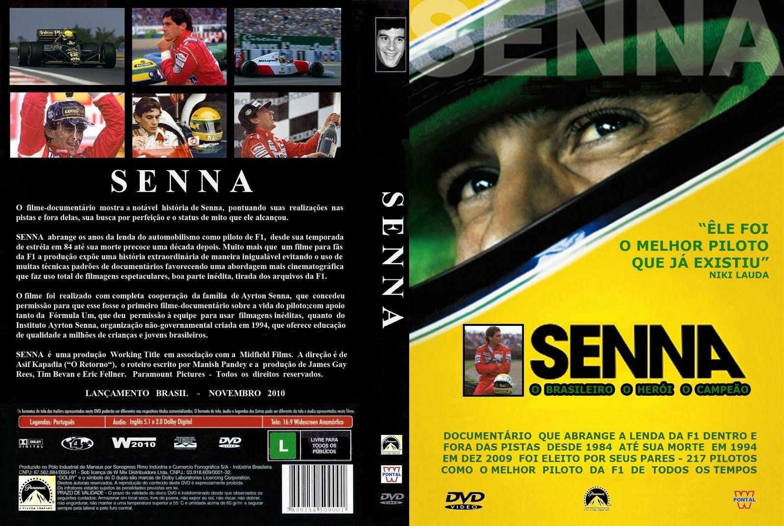 Senna DVDRip XviD Dual Áudio Senna