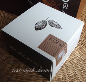 koko black packaging