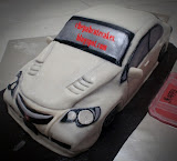Honda Civic Cake