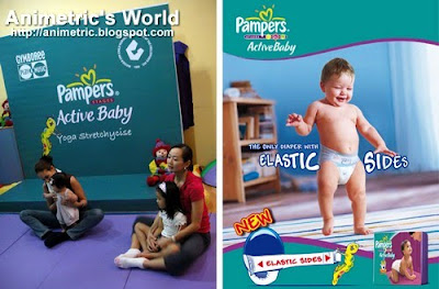 Pampers Yoga Stretchycise Launch at Gymboree