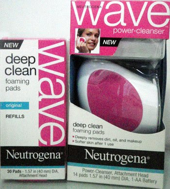 Neutrogena Wave Deep Clean Starter Kit with refill pack