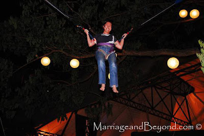 Up,up, and away with Bungee Fun