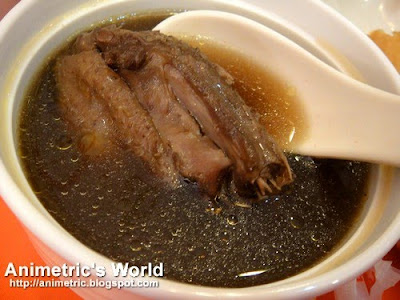 Sibot with Duck Soup at The Cantonese Soup Kitchen