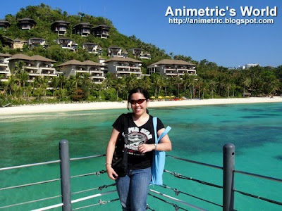 The dock at Shangrila Boracay Resort and Spa