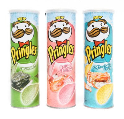 Pringles Flavors of the Sea