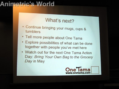 One Tama presentation