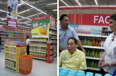 Henry Sy and Kim Chiu @ SM Hypermarket Mandaluyong
