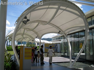 SM City Sky Garden's canopied walkways