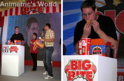 Tom 'Goose' Gilbert at the 7-Eleven Bigbite Match Launch