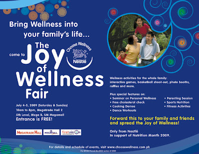 Nestle The Joy of Wellness Fair