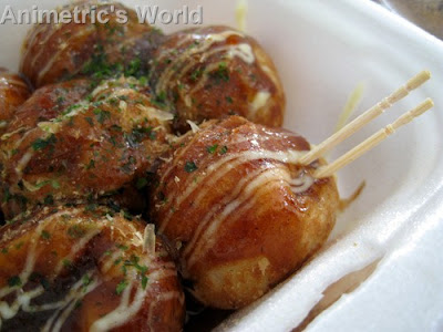 Takoyaki from Hana at Choto Stop