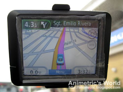 Garmin 255 GPS unit