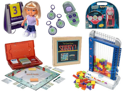 Toys and games from Hasbro, Summit, Radica, Sakar International, National Geographic