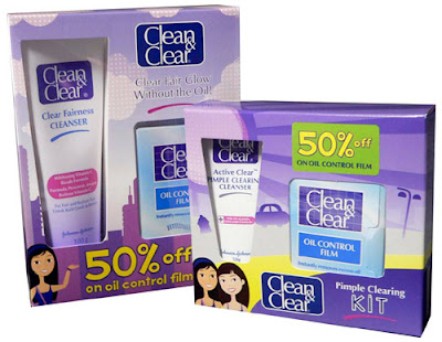 Clean and Clear Christmas promo bundles