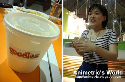 Goodles portable noodles owner Sharlene Tan