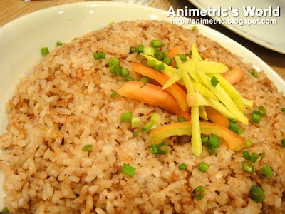 Bagoong Rice at Congo Grille
