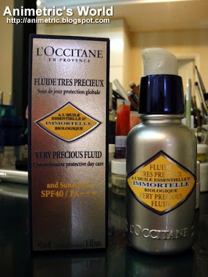L'Occitane Immortelle Very Precious Fluid SPF 40