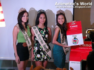 Ms. Earth Philippines Winners