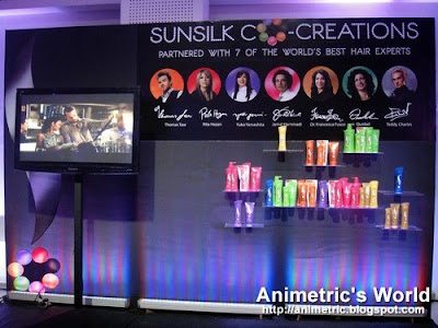Sunsilk Co-Creations shampoos and conditioners