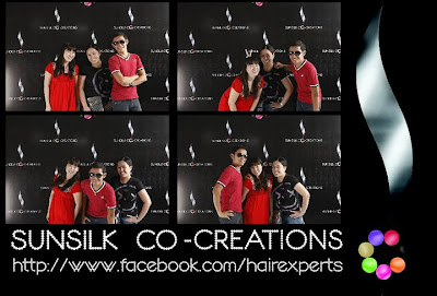 Photo Ops at the Sunsilk Co-Creations Launch