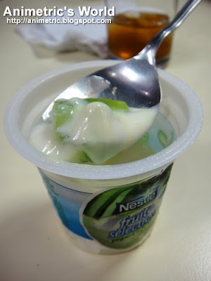 Nestle Fruit Selection Yogurt + Jelly in Buco Pandan
