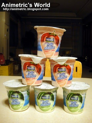 Nestle Fruit Selection Yogurt + Jelly