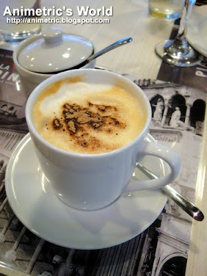 Cappuccino at La Piadina, Glorietta 4