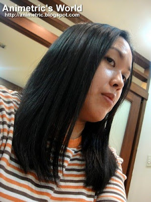 Finished product of Shuji Kida Hair Salon&#39;s Japanese Straightening
