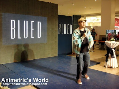 Blued fashion show at Glorietta 5