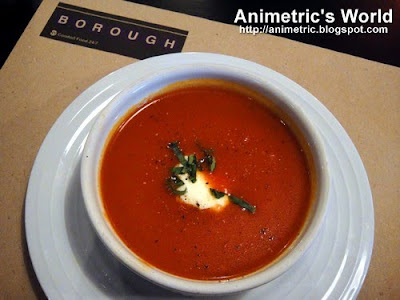 Tomato Soup at Borough, The Podium