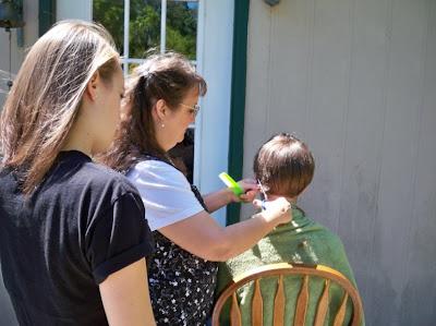 Hair Cutting Lessons - Home Ec 102!
