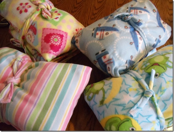 Fleece Sleeping Bags And Travel Size Pillows From Full Ones