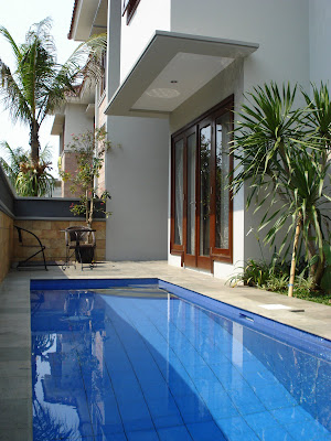gambar desain kolam renang minimalis