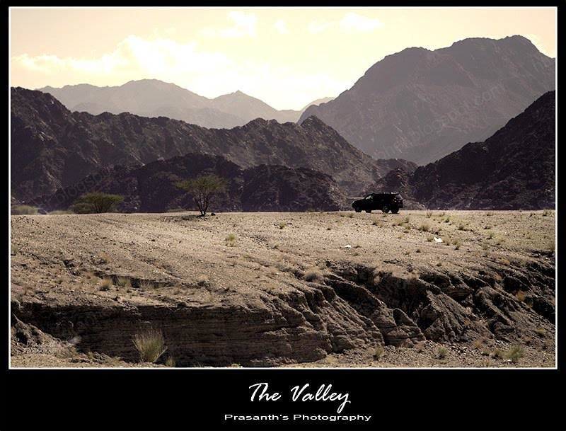 valley in UAE