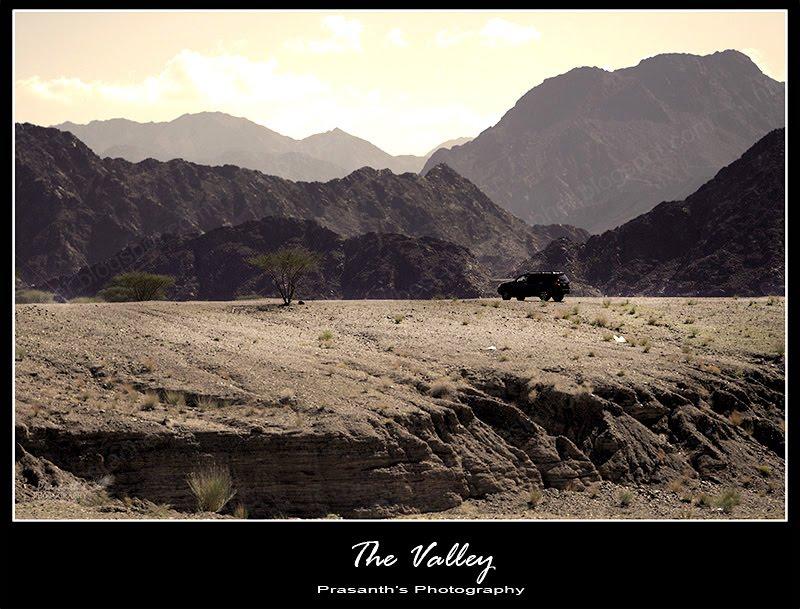 valley in UAE
