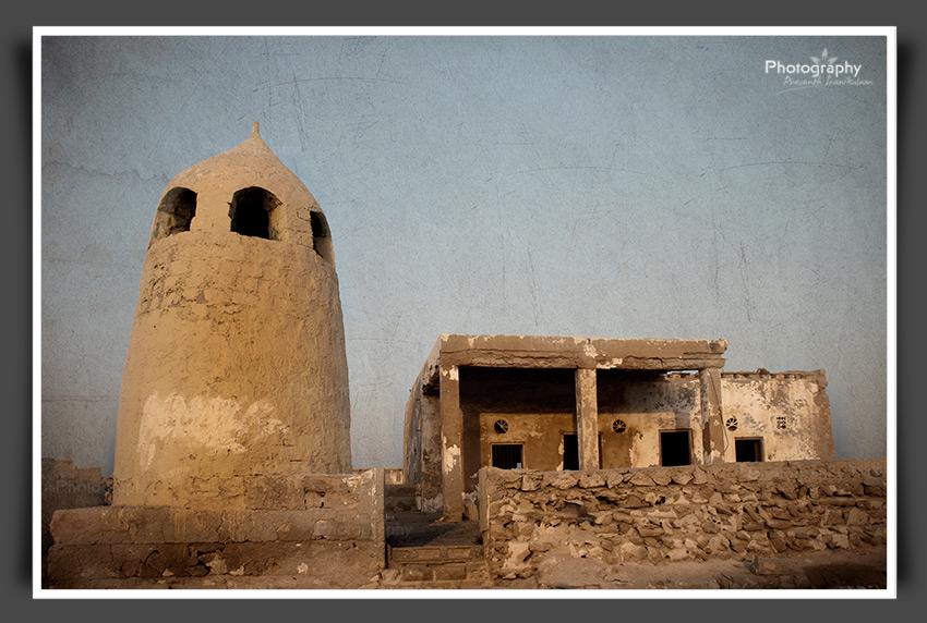 Ghost town Mosque Ras Al Khaimah